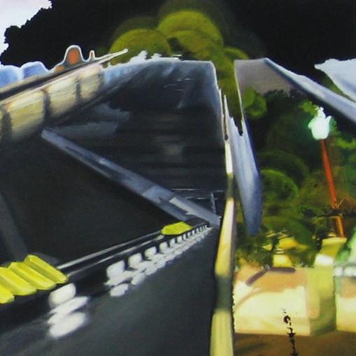 Oil on canvas 60 x 60 cm