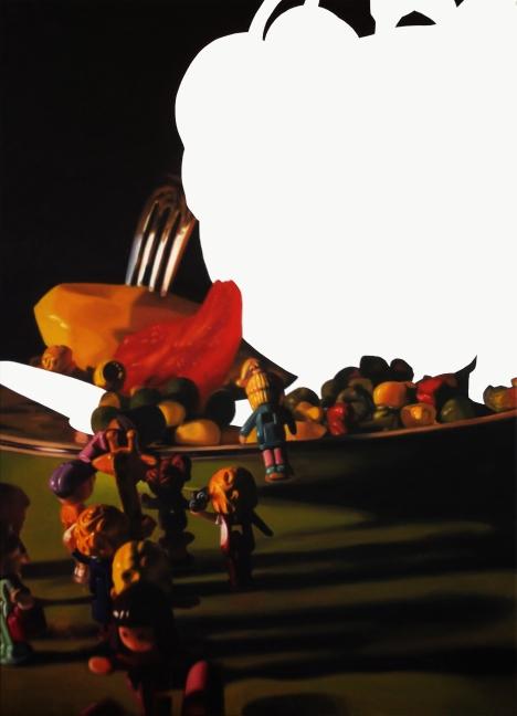 Oil on canvas 90 x 120 cm