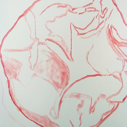 claypink drawing