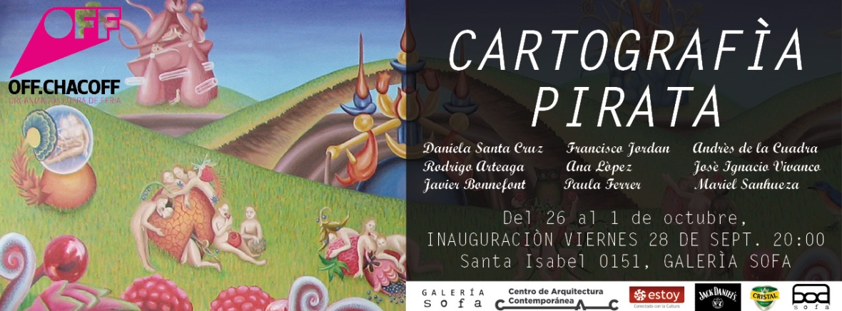 INVITACION CARTOGRAFIA PIRATA chaco off
